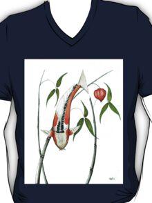 Japnese Koi Shuisui Chinese Lantern painting T-Shirt