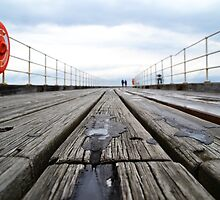 Whitby Pier. by rebekahesme