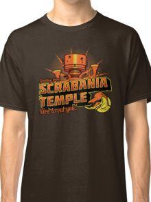Greetings From Scrabania Temple Classic T-Shirt