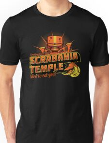 Greetings From Scrabania Temple Unisex T-Shirt