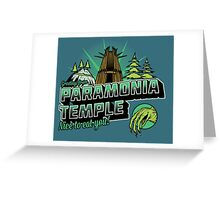 Greetings From Paramonia Temple Greeting Card