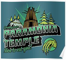 Greetings From Paramonia Temple Poster