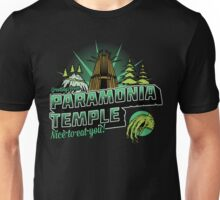 Greetings From Paramonia Temple Unisex T-Shirt