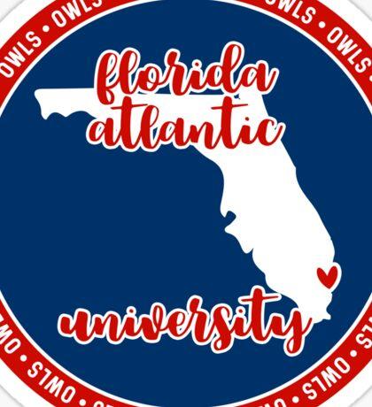 Florida Atlantic University - Style 15 Sticker