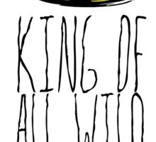 Where the Wild Things Are - King of All Wild Things 1 Sticker Sticker