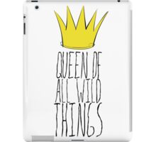 Where the Wild Things Are - Queen of All Wild Things 2 Cutout  iPad Case/Skin
