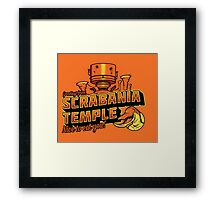 Greetings From Scrabania Temple Framed Print