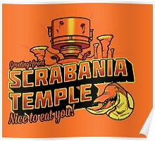 Greetings From Scrabania Temple Poster