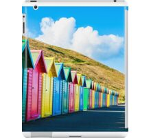 Colorful beach huts iPad Case/Skin