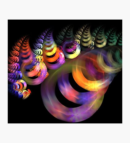 Spiral Rings Photographic Print