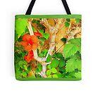 Tote Bag 29................................Hibiscus by Fara