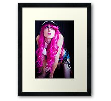 That's a trap? Framed Print