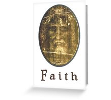 Shroud of Turin tablet case Greeting Card