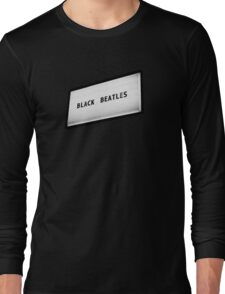 Black Beatles Long Sleeve T-Shirt