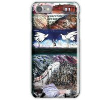 Peace on The Wall iPhone Case/Skin