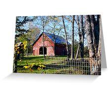A Pretty Barn Greeting Card