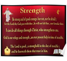 Christian scriptures gifts Poster