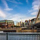 North End Locks by d1373l