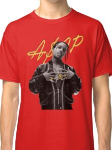 A$AP Rocky Gold Signature Classic T-Shirt