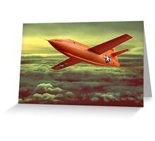 Bell X1 Greeting Card