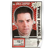Twin Peaks Mask, Dale Cooper Poster