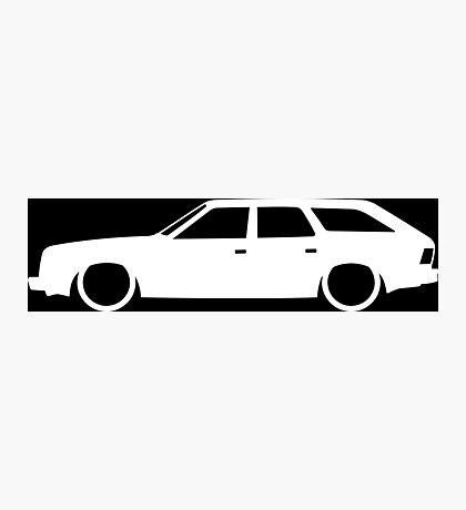 Lowered car for AMC Eagle station wagon enthusiasts Photographic Print