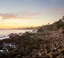 Night Beach by jswolfphoto