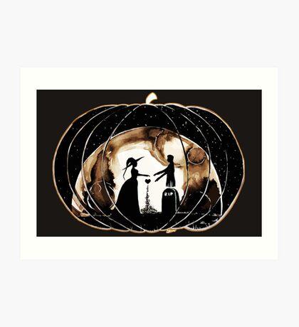 Halloween Love (Happy Halloween !)  Art Print