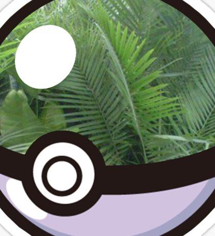 Pokeball Plants Tumblr Aesthetic Sticker