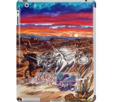 the unicorns of voran's canyon iPad Case/Skin