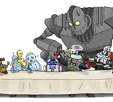 The Last Robot Supper by jorion