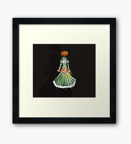 Jack-o'-Lantern Framed Print