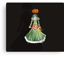 Jack-o'-Lantern Canvas Print