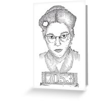 Rosa Parks Greeting Card