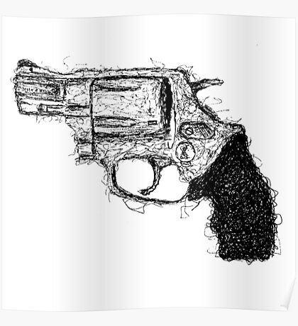 Smith & Wesson Scrawl Poster
