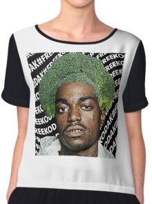Kodak Black Broccoli Head #FREEKODAK Chiffon Top