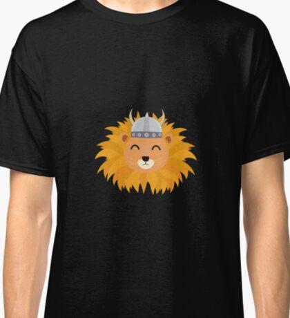 Viking lion head Classic T-Shirt