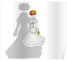 Jack-o'-Lantern (Ghost version) Poster