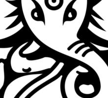 Ganesh Ganesa Ganapati 4 (2 colors) Sticker