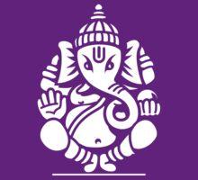 Ganesh Ganesa Ganapati 4 (white) T-Shirt