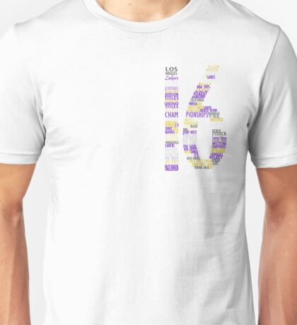 LAKERS 16 Championships typography Unisex T-Shirt