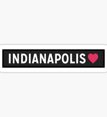 Indianapolis IN Sticker