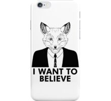 My name is Fox iPhone Case/Skin