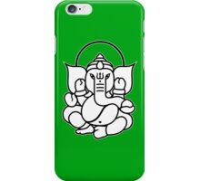 Ganesh Ganesa Ganapati 3 (2 colors) iPhone Case/Skin