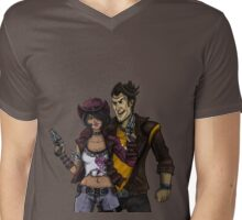 Jack and Nisha Mens V-Neck T-Shirt