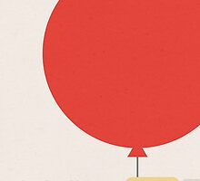 Le Ballon Rouge (The Red Balloon) by canossagraphics