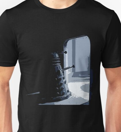 Dalek in the Wings Unisex T-Shirt