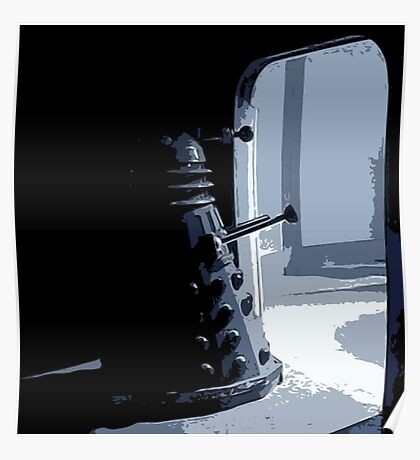 Dalek in the Wings Poster