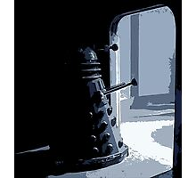 Dalek in the Wings Photographic Print
