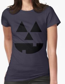 Jack O' Lantern Womens Fitted T-Shirt